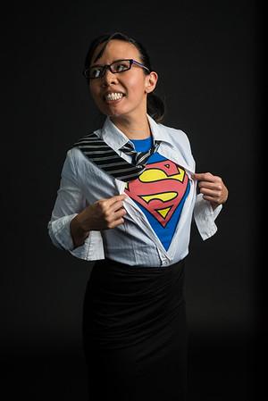 """Sheryl Lun as """"Superwoman"""""""