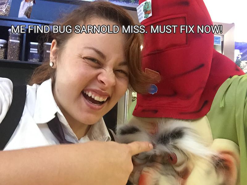 sarnold Miss DGrin Troll Bug. Hire DGrin Troll!