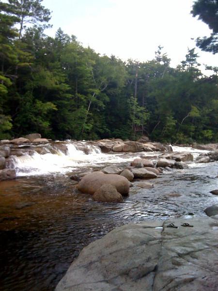 20080816 Swift River NH - Lower Falls