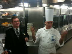 Executive Chef Giuseppe and Maitre D Hotel Francois