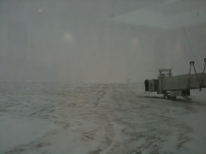 Conditions at the airport