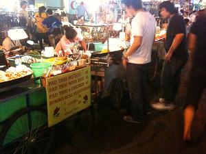 Khao San Road street food vendors