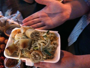 Pad Thai on Khao San Road