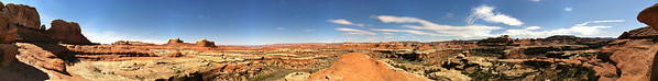 Panoramic Photo of Canyonlands National Park