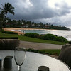 Breakfast on Poipu Beach, Kauai