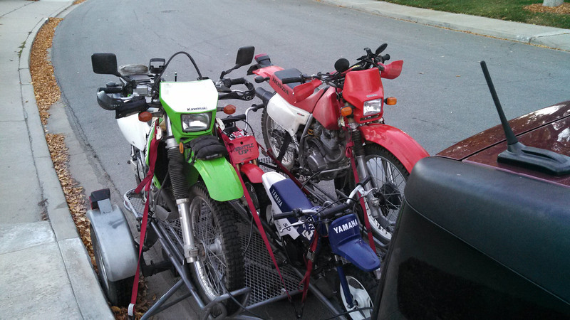 Loaded for trip to Songdog