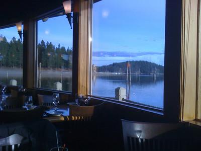 View from inside Cedar's Feb 2010