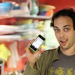 SmugMug sorcerer Sam talking iPhone 4 HD Video coolness
