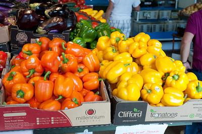Farmer's market Granville Island, Vancouver