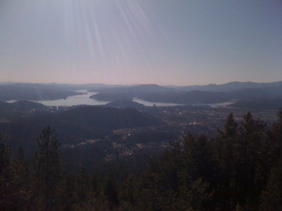 View from Canfield Mt Feb 2010