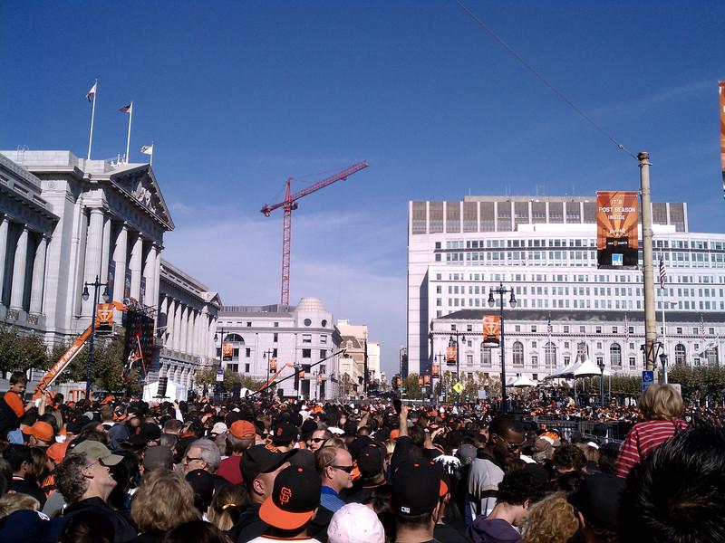 giants celebration