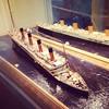 Sad diorama, sinking Titanic #whoi #diorama #ilovedioramas #evensadones