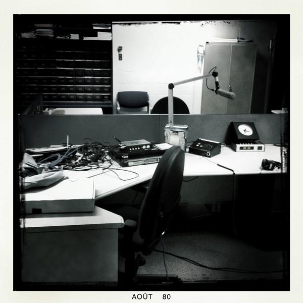 C'est calme au travail...