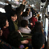 Bus to the Yoshimine-dera temple: super crowded!