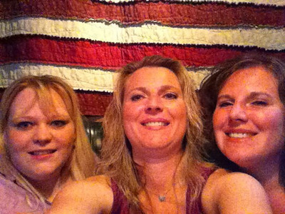 Kim, Melissa,  & Lorinda. July 2010