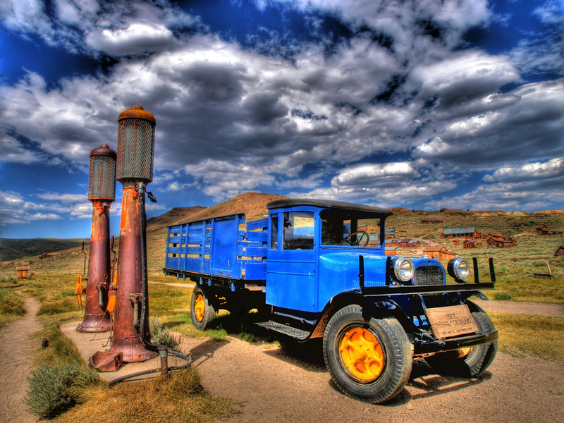 Bodie State Park.