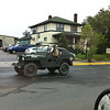 The General, driving around in Ely, MN
