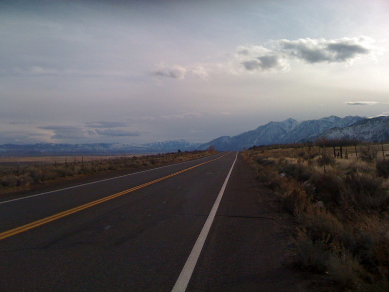 Near Genoa, NV.