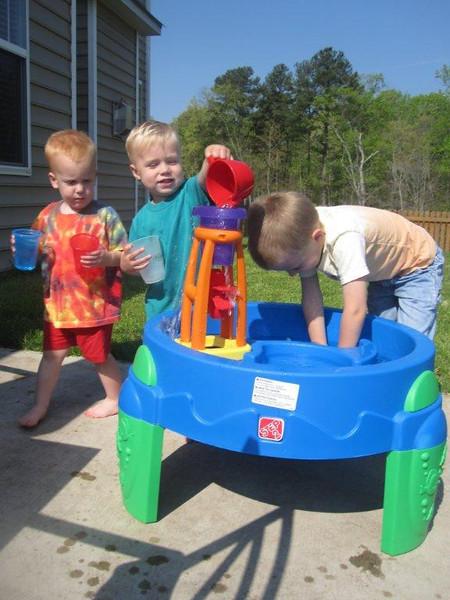 Water fun at Mrs Lauren's!