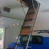 Ladder to storage
