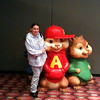 This for the new chipmunks movie. It was taken at the new moon premiere