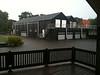 onweer en hagel in Wanneperveen