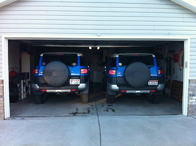 No you are not seeing double. We had Jerry's FJ for the day. Feb 2011
