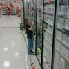 Playing the DS @ Target