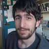 Ben Jaffe in my office at Porter College, UCSC. Using my iPhone and SmugShot.