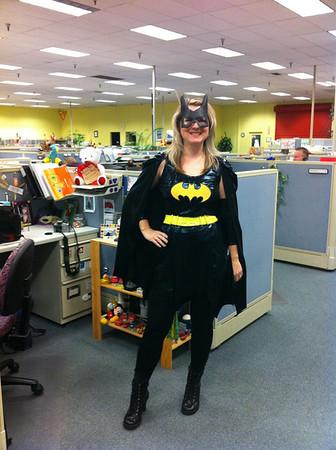 Melissa as Batwoman