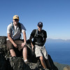 September 2010.  Cameron and his best friend, Dylan; on top of Mt. Tallac, CA