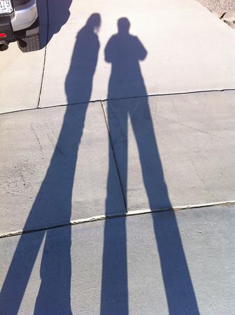 Boy Lorinda & I are really Tall! Sept 2010