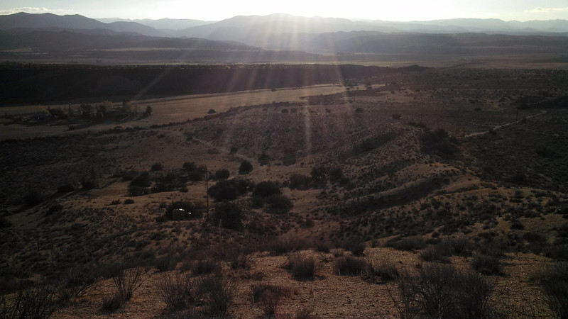Songdog Ranch before sunset