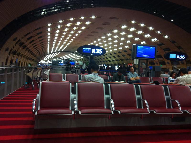 Terminal 2E at CDG