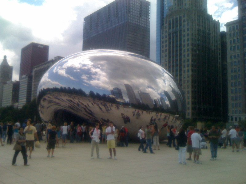 The Bean, Millennium Park in Chicago