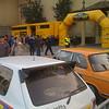 Some kind of rally event near Placa de Marqués de Foronda