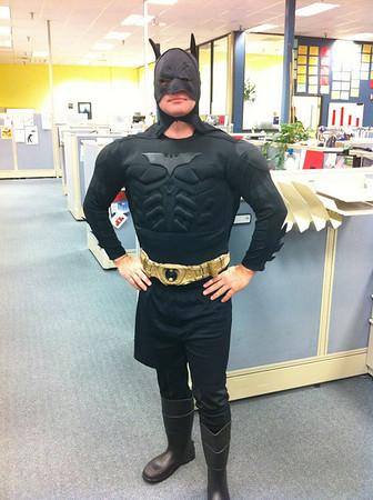 Tim as Batman