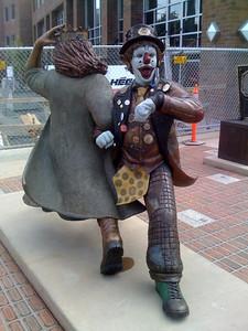 Disturbing Clown in Fremont