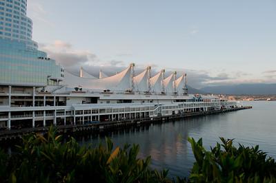 Canada Place cruise ship dock