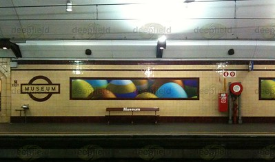 Museum Station, Sydney - Easter.