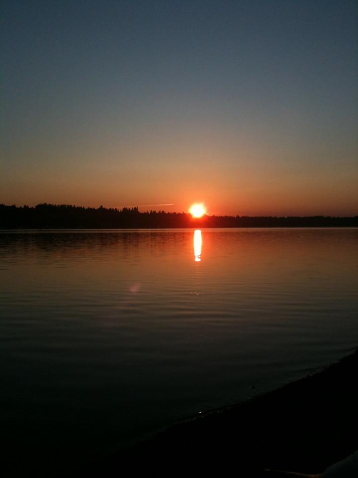 Olympia Sunset