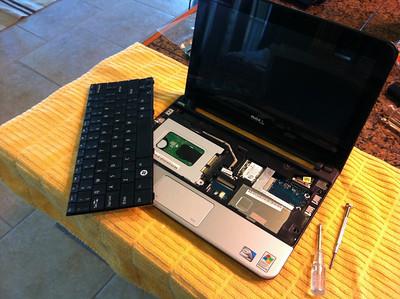 Dell Mini10 surgery.