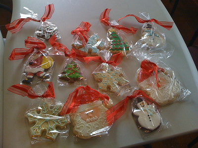 Cookies from Denise!