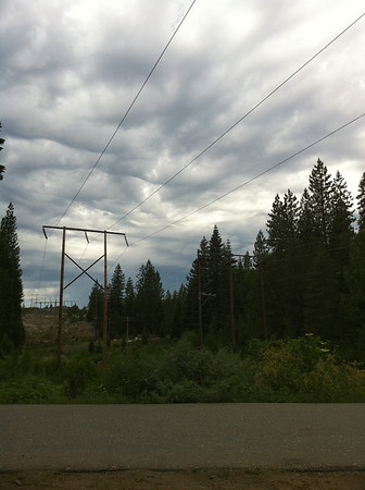 Shoot just south of Truckee, CA when some ominous looking July clouds rolled by.
