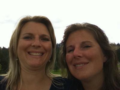 Melissa & Lorinda July 2010
