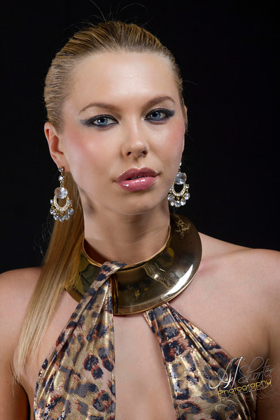 Designer Bernard Holley & MUA <br /> Glamazon Models<br /> SNYTCH Magazine Shoot 2012