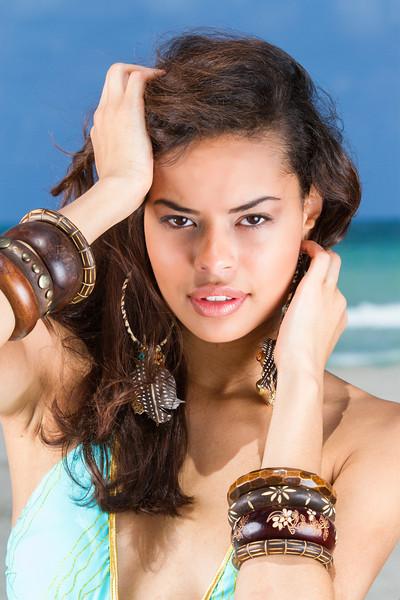 Model; Loren Rodriguez of Elite Model Management