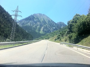 Driving in the Pyreneese