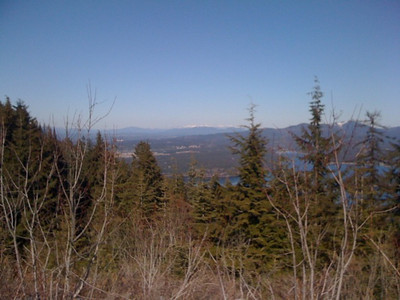 View of Hsyden lake from Canfild Mt Feb 2010
