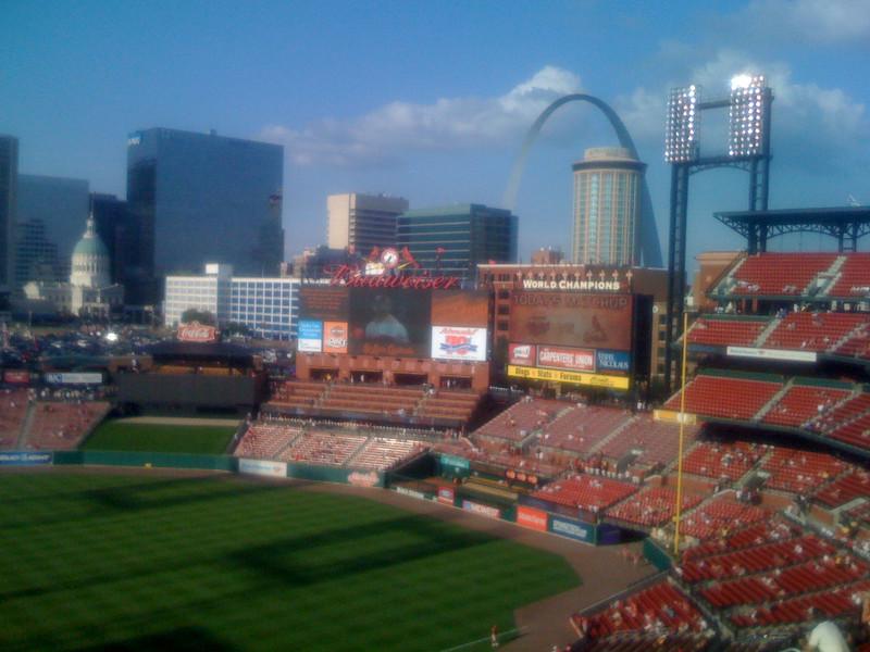 St. Louis from Busch Stadium